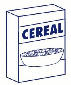 Cereal clipart blank