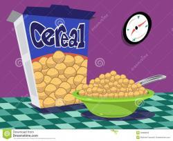 Cereal clipart caja de