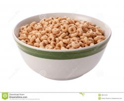 Oatmeal clipart bowl cheerios