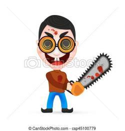 Chainsaw clipart killer