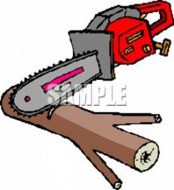 Chainsaw clipart tree removal