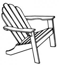 Timber clipart wood chair