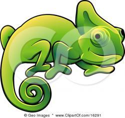 Chameleon clipart art