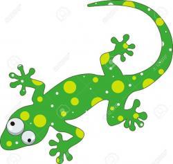 Chameleon clipart gecko