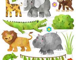 Chameleon clipart hippo