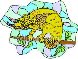 Chameleon clipart jackson