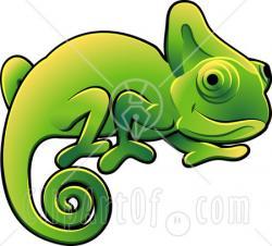 Chameleon clipart lizard