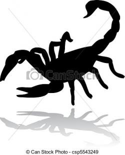 Collage clipart scorpion