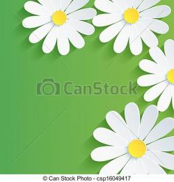 Camomile clipart petal