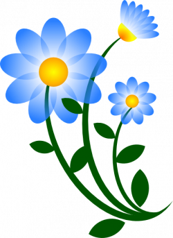 Chamomile clipart flower bunch