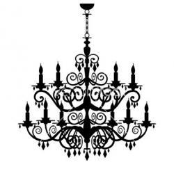 Chandelier clipart ceiling lamp