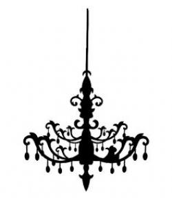 Chandelier clipart easy