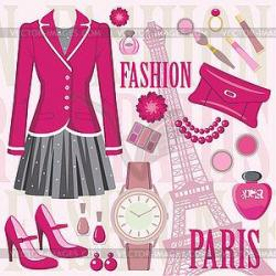 Chanel clipart clothing