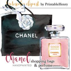 Perufme clipart chanel bag
