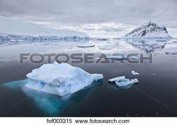 Iceberg clipart antarctica
