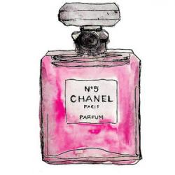 Chanel clipart perfume