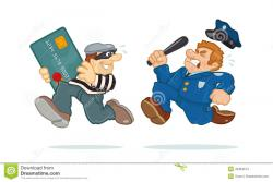 Police clipart police chase
