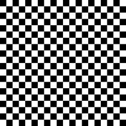 Checkerboard clipart black and white