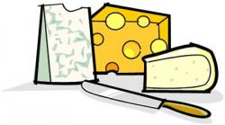 Mozzarella clipart milk and cheese