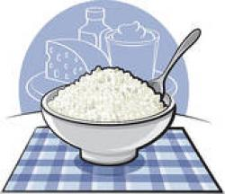 Cheese clipart cottage cheese