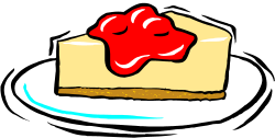 In The Desert clipart cheesecake