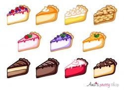 Cheesecake clipart baked