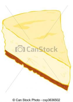 Cheesecake clipart cake slice