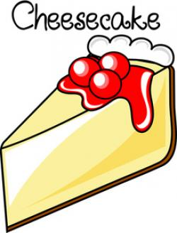 Cheesecake clipart cartoon