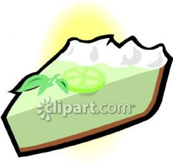Lime clipart key lime pie
