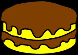 Cheesecake clipart plain