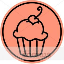 Cheesecake clipart simple
