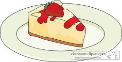Cheesecake clipart strawberry cheesecake