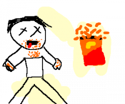 Cheetos clipart dangerously