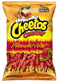 Cheetos clipart spicy