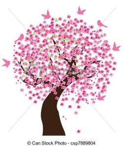 Cherry Tree clipart lilac tree