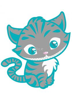 Cheshire Cat clipart cute