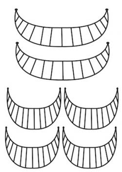 Cheshire Cat clipart mouth
