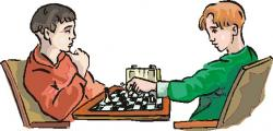 Club clipart play chess