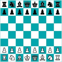 Chess clipart chess board