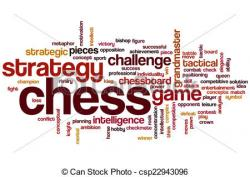 Chess clipart word