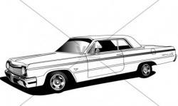 Chevrolet Impala clipart