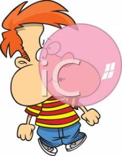 Chewing Gum clipart person