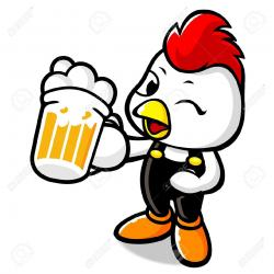 Chicken clipart drunk