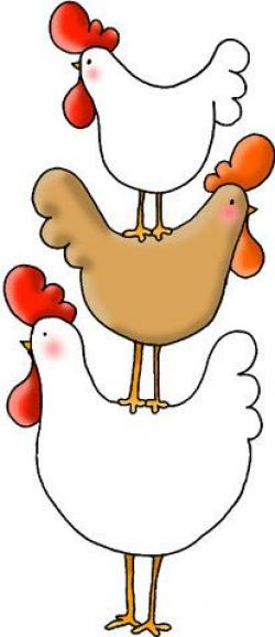 Chicken clipart whimsical