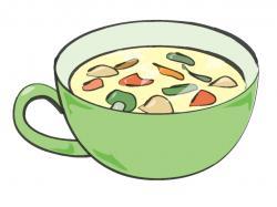 Vegetable clipart vegetable soup
