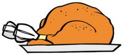 Roast clipart cooked turkey