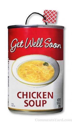 Chicken Soup clipart feel good