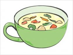 Chicken Soup clipart hot and cold
