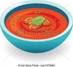 Chicken Soup clipart tomato soup