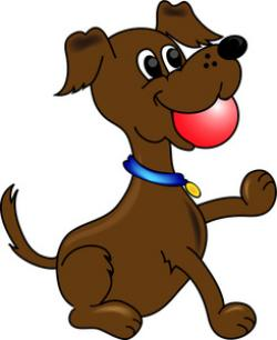 Chase clipart brown puppy